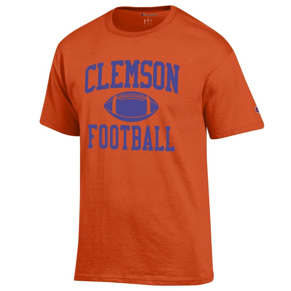 Clemson Champion Men's Basic Football Tee