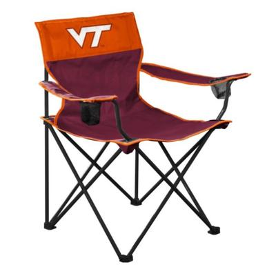 Virginia Tech Logo Brands Big Boy Chair