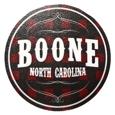 Seasons Design Buffalo Check Boone, NC Decal
