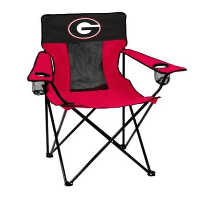 Georgia Bulldogs Logo Brands Elite Chair