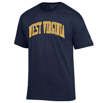 West Virginia Champion Men's Arch Tee