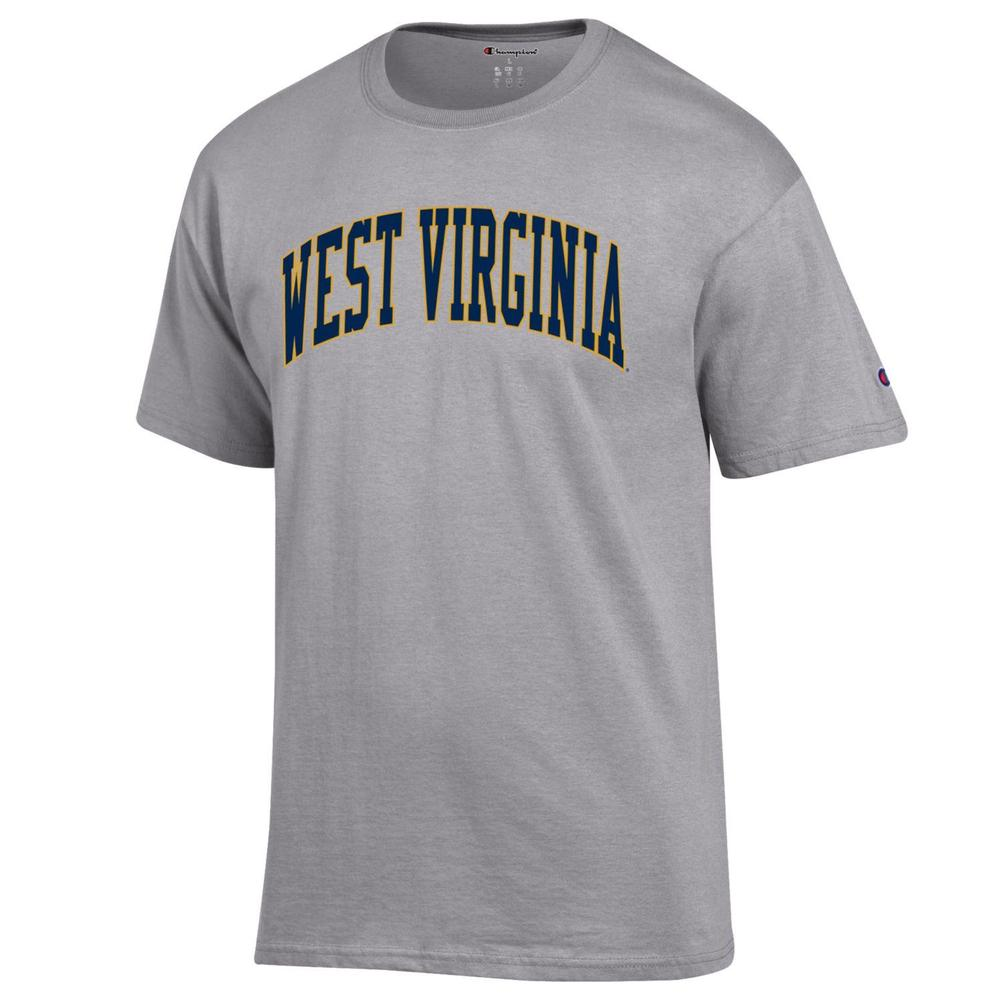 West Virginia Champion Men's Arch Tee