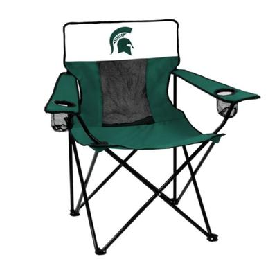 Michigan State Spartans Logo Brands Elite Chair
