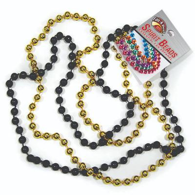 Black and Gold Spirit Beads