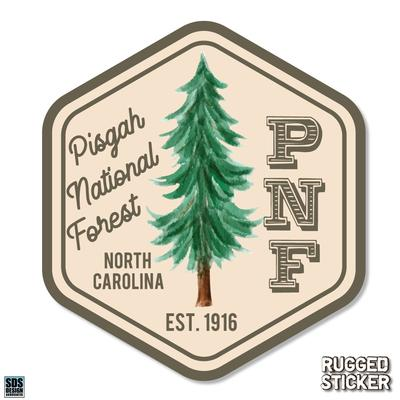Seasons Design Boone Pisgah National Forest Decal