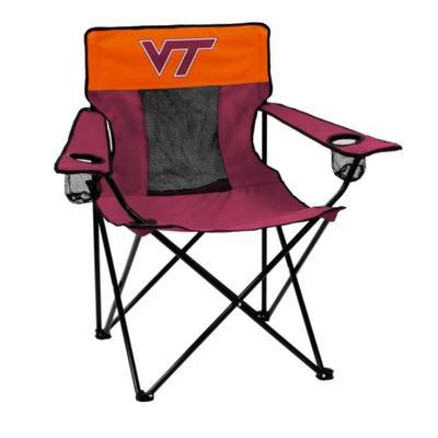 Virginia Tech Logo Brands Elite Chair