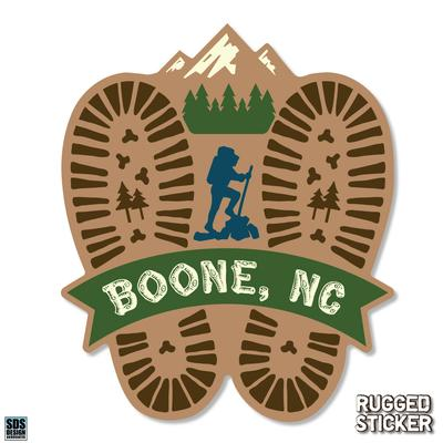 Seasons Design Boone Hiking Prints Decal