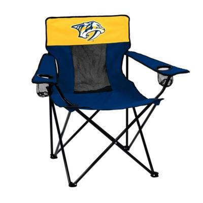 Nashville Predators Logo Brands Elite Chair