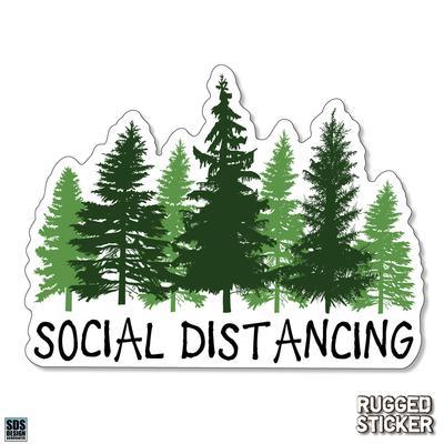 Seasons Design Boone Social Distancing Decal