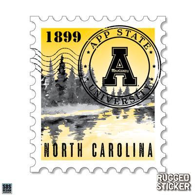 Seasons Design Boone North Carolina Stamp Decal