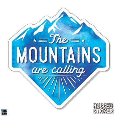 Seasons Design Boone The Mountains Are Calling Decal