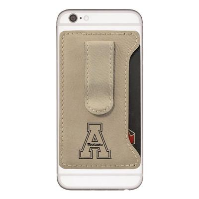 Appalachian State Cell Phone Card Holder with Money Clip
