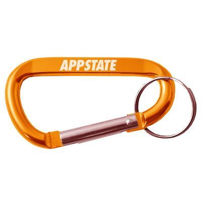 Appalachian State Carabiner Key Chain