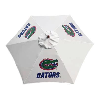 Florida Steel Dark Ash Patio Umbrella