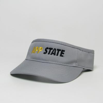 Appalachian State Legacy Men's App State Cool Fit Visor