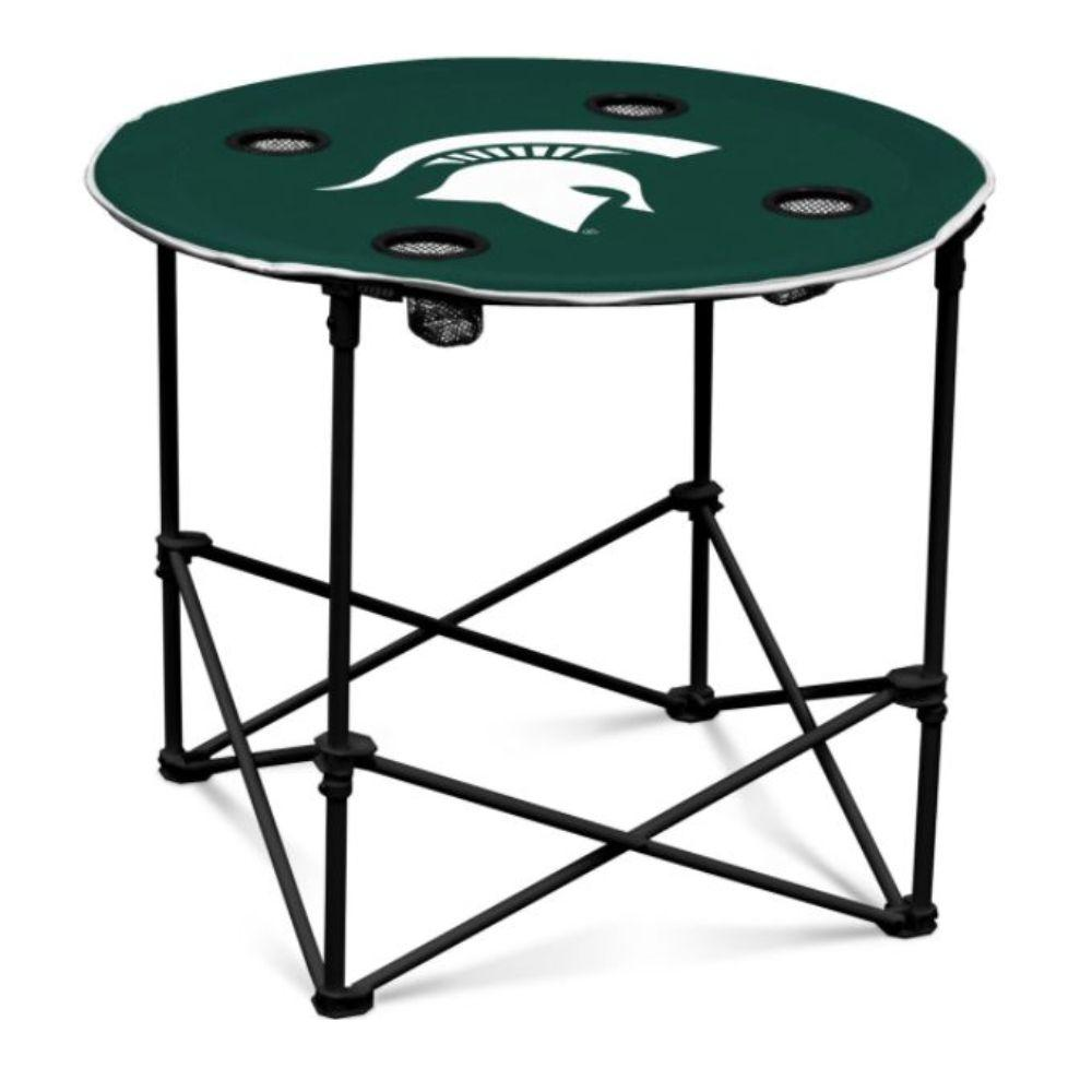 Michigan State Logo Brands Table