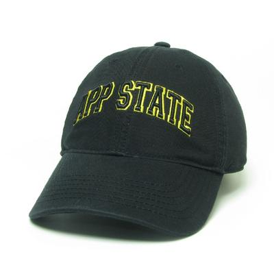 Appalachian State Legacy Men's Arch App State Twill Adjustable Hat