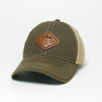 Legacy Men's Boone Blowing Rock Patch Adjustable Trucker Hat