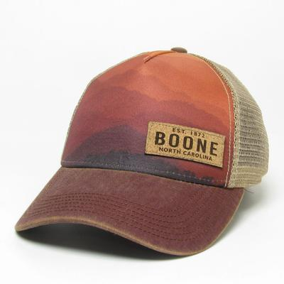 Legacy Men's Boone Cork Printed Patch Adjustable Trucker Hat