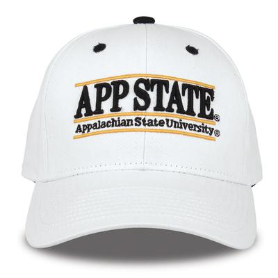 Appalachian State The Game App State Bar White Hat