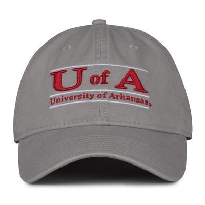Arkansas The Game 'U of A' Bar Adjustable Hat