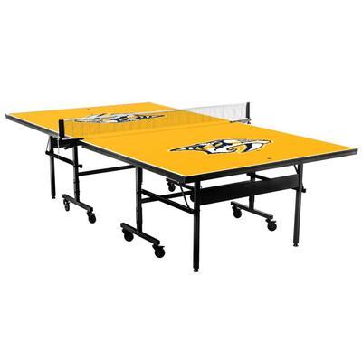 Nashville Predators Classic Standard Table Tennis Table
