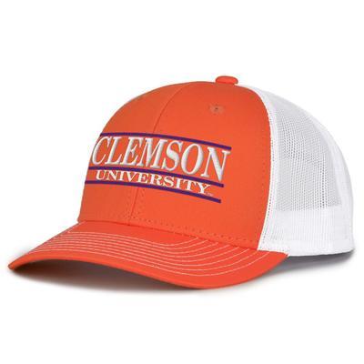 Clemson The Game Clemson Bar Adjustable Trucker Hat