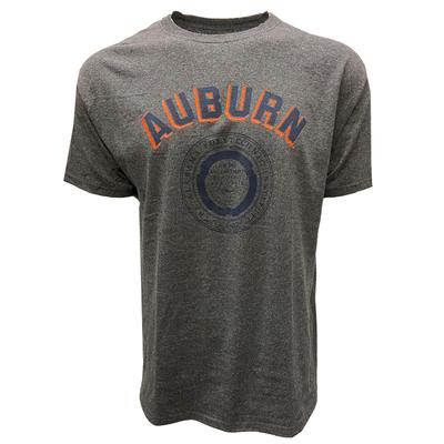 Auburn Champion Men's College Seal T-Shirt GRANITE_HTHR