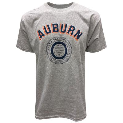 Auburn Champion Men's College Seal T-Shirt OXFORD