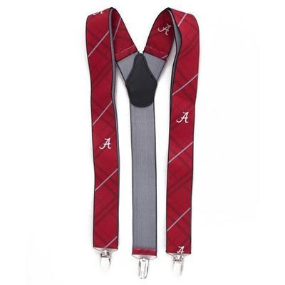 Alabama Oxford Stripe Suspenders
