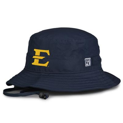 ETSU The Game ETSU Logo Drawcord Bucket Hat