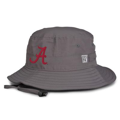 Alabama The Game Script A Logo Drawcord Bucket Hat