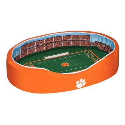 Clemson Stadium Spot MEDIUM Dog Bed