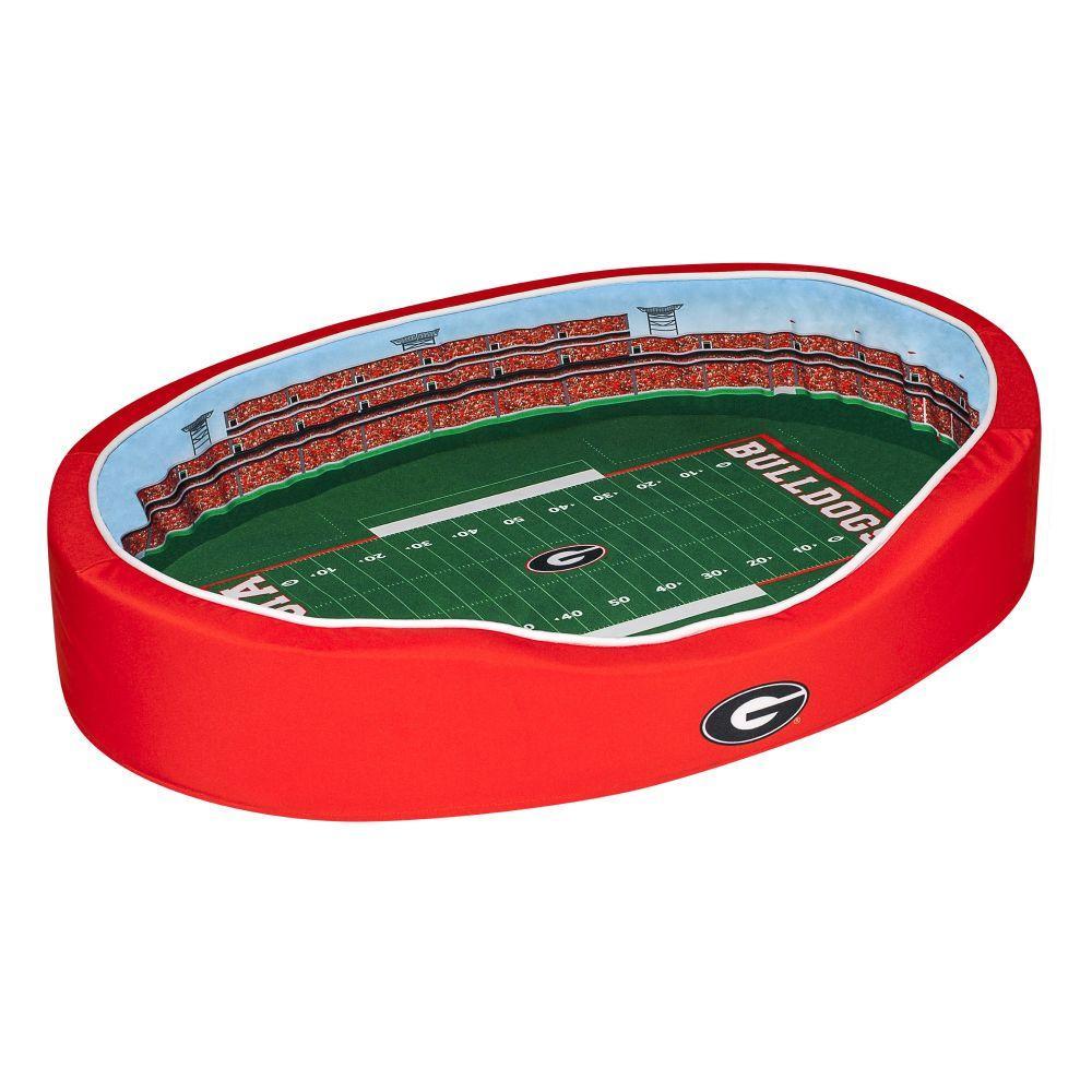 Georgia Stadium Spot Medium Dog Bed