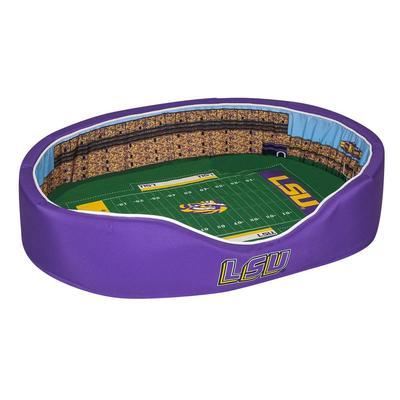 LSU Stadium Spot MEDIUM Dog Bed