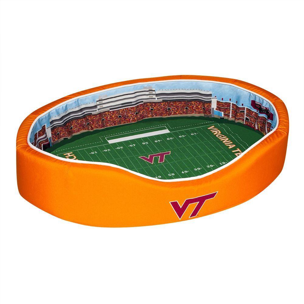 Virginia Tech Stadium Spot Small Dog Bed