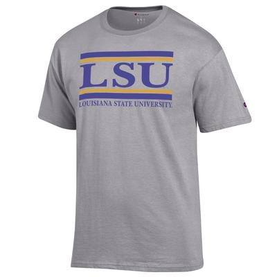 LSU Champion Men's Bar Tee