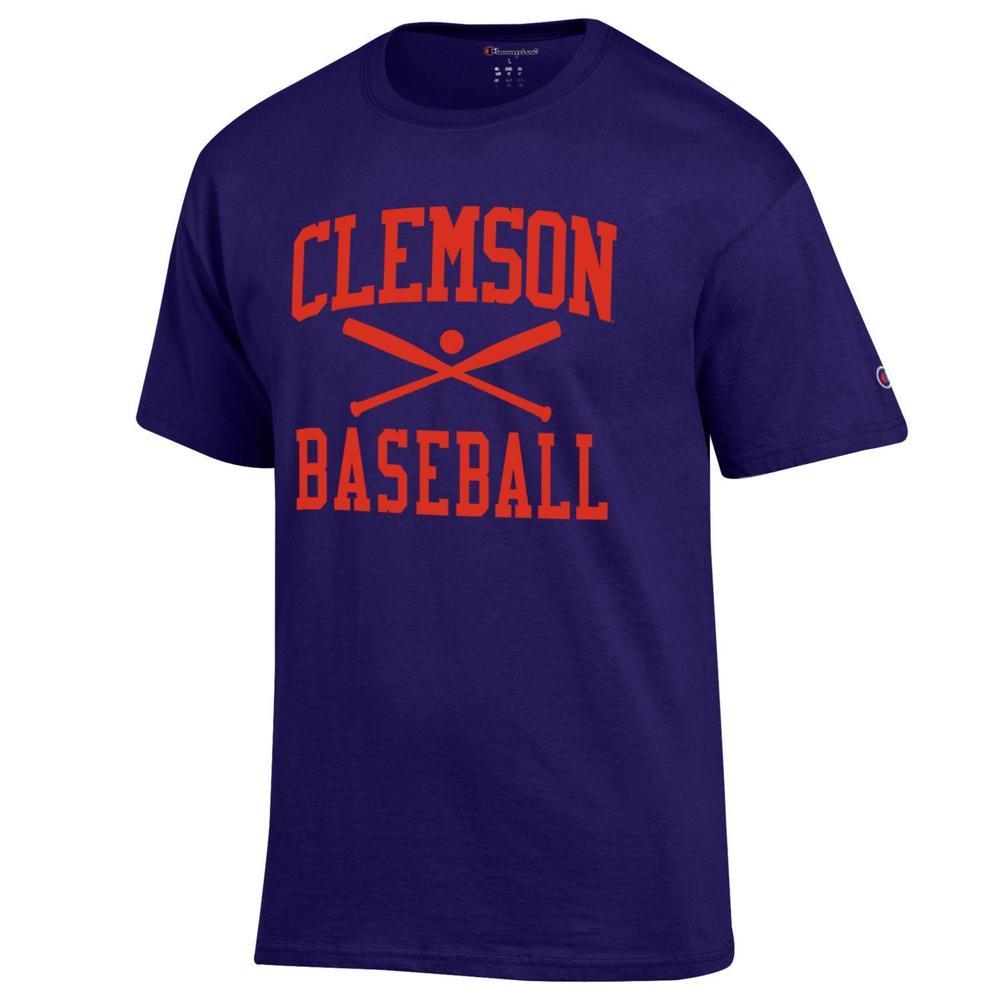 Clemson Champion Men's Basic Baseball Tee