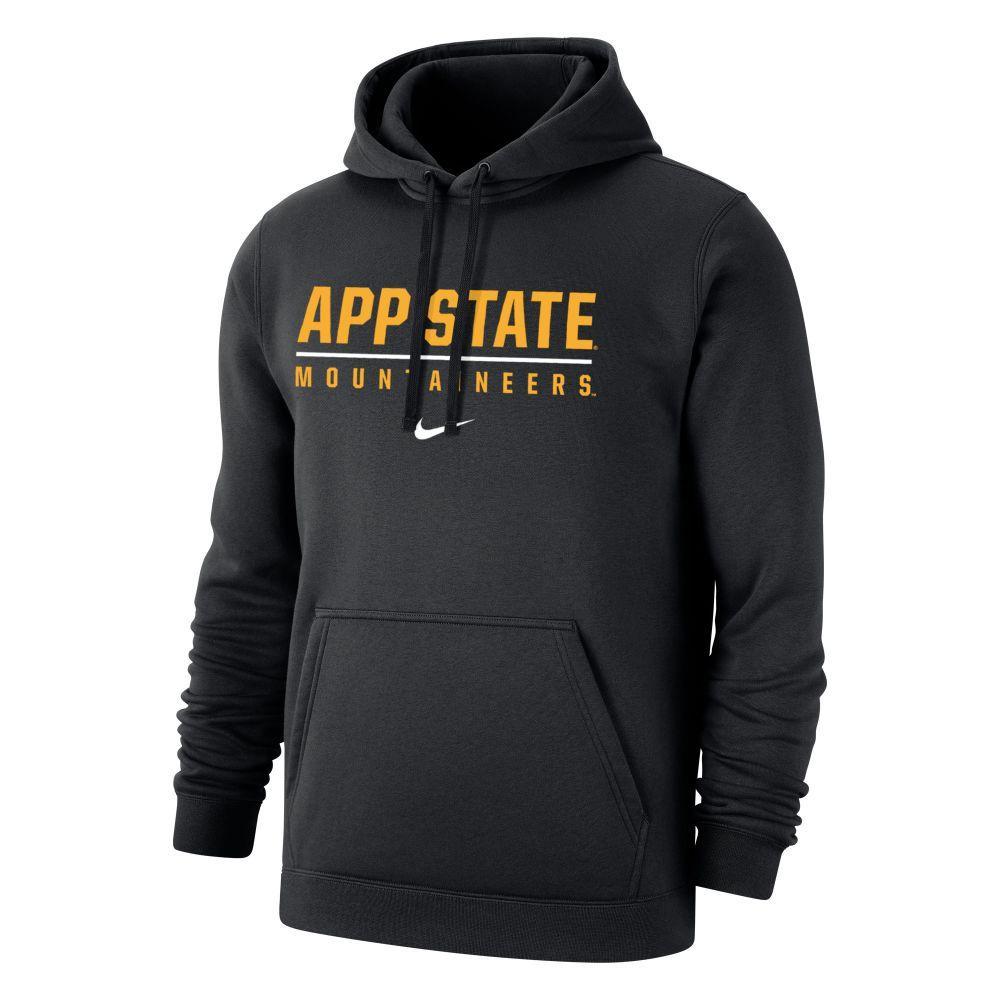 Appalachian State Nike Club Fleece Hoody