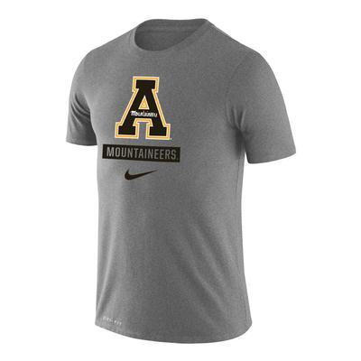 Appalachian State Nike Dri-FIT Legend Logo Short Sleeve Tee