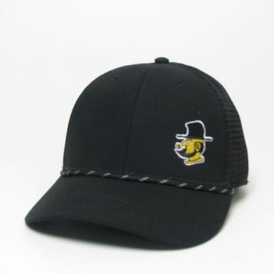 Appalachian State Legacy Lo-Pro Left Hit Rope Yosef Adjustable Hat