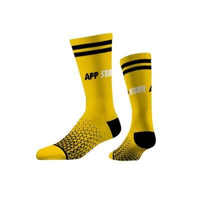 Appalachian State Strideline Economy Knit Crew Socks