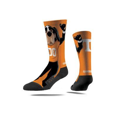 Tennessee Strideline Mascot Full Sublimated Crew Socks