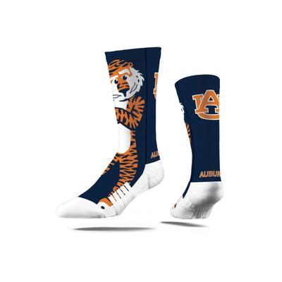 Auburn Strideline Mascot Full Sublimated Crew Socks