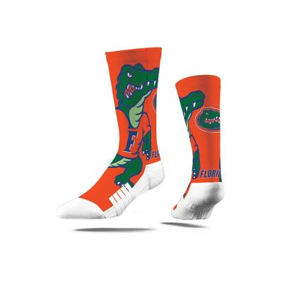 Florida Strideline Mascot Full Sublimated Crew Socks