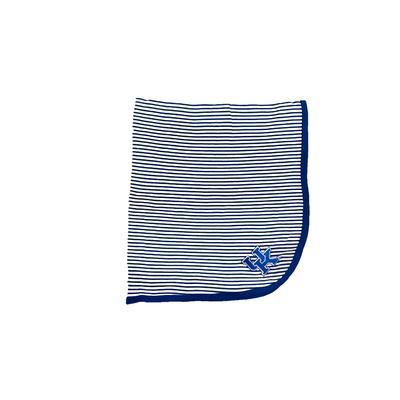 Kentucky InfantStriped Knit Blanket