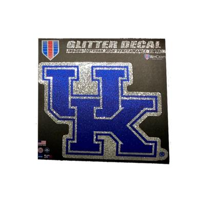Kentucky Glitter UK Decal 6 X 6