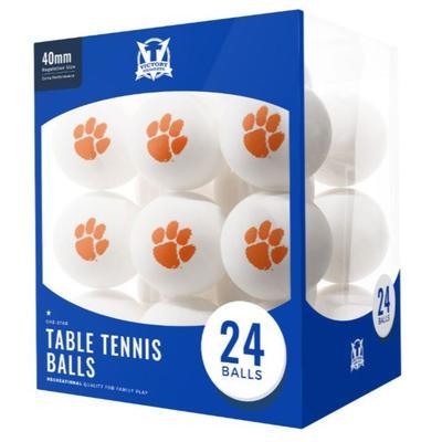 Clemson Table Tennis Balls