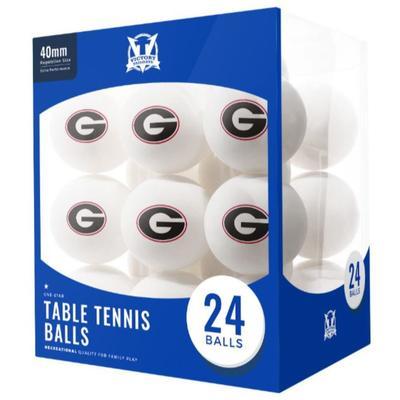 Georgia Table Tennis Balls