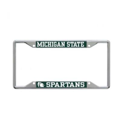 Michigan State Mega Logo License Plate Frame